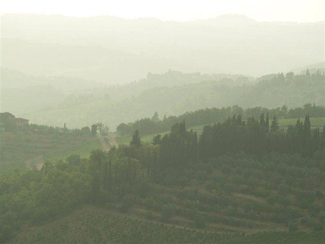 Foggy Chianti hills - Cecilia Betancourt