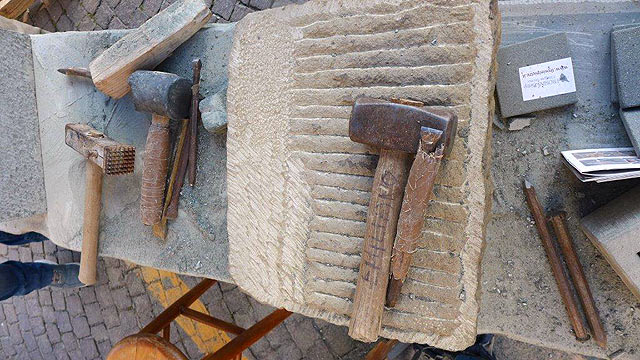 Stone workers' tools