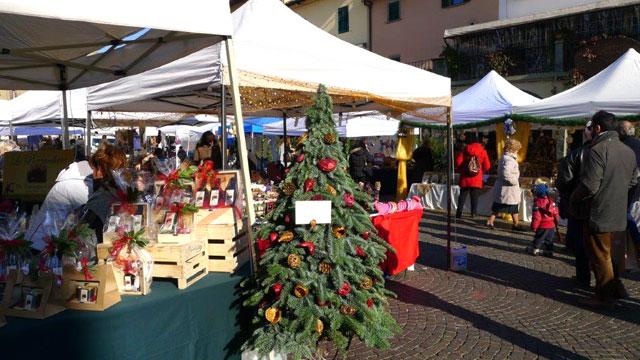 Christmas market in Greve in Chianti