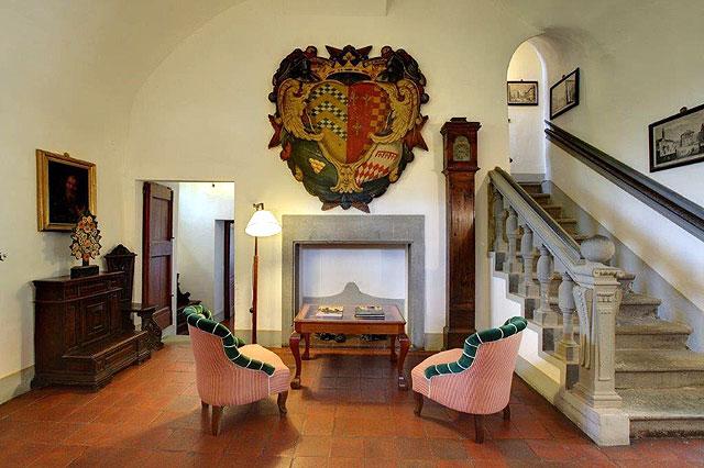 Historic hotel Villa le Barone