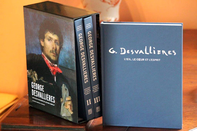 """Cover of the  """"Catalogue raisonné"""" George Desvallières"""