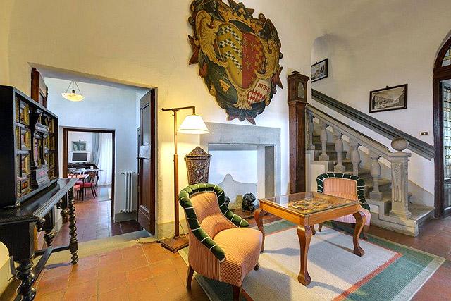 A historic hotel in Chianti: Villa le Barone