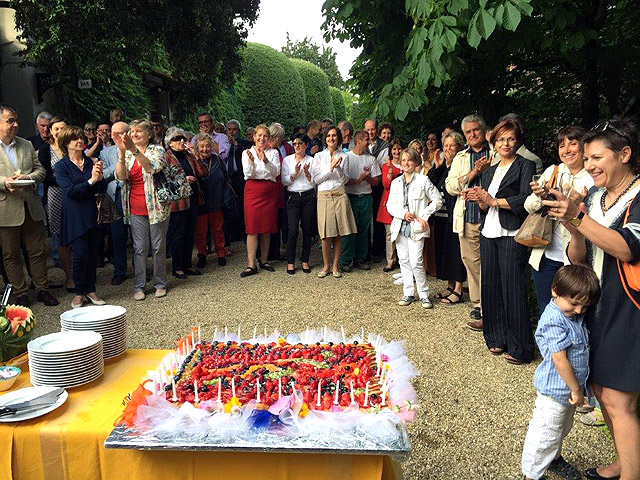 Celebrating Villa le Barone 's 40th birthday