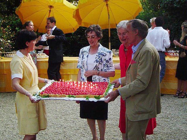 Celebrating Villa le Barone 's 30th birthday