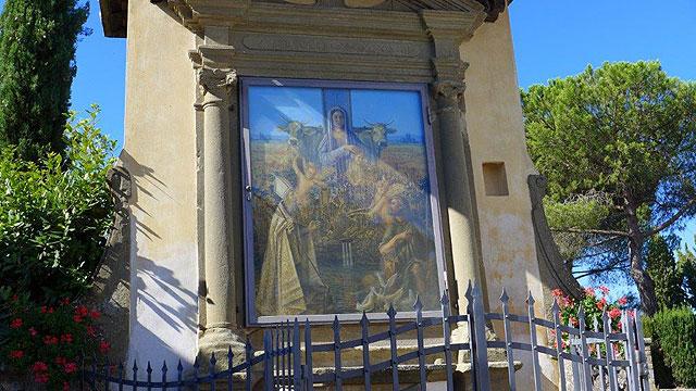 Tabernacle of San Isidoro , Panzano in Chianti
