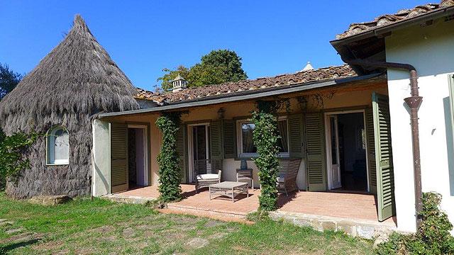 Villa il Rough on the Ugolino golf in Tuscany