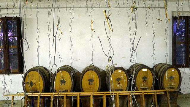 "Barrels ""Caratelli"" for Vin Santo ( Holy Wine) in Chianti"
